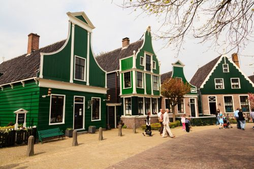 Traditional Holland Architecture