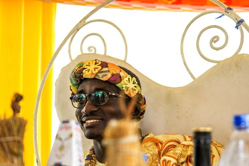 traditional wedding  african  smile