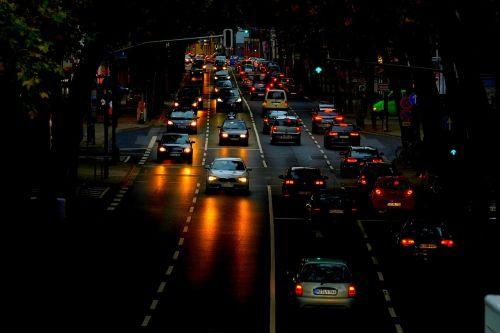 traffic autos vehicles