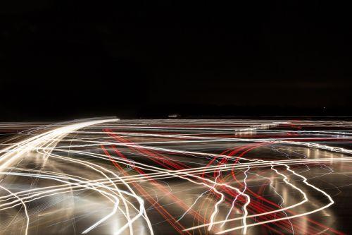 traffic highway lights