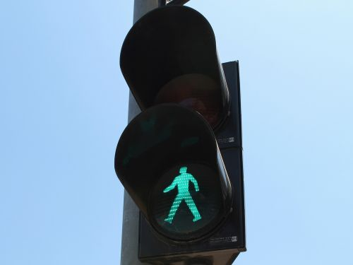 traffic pedestrians green light