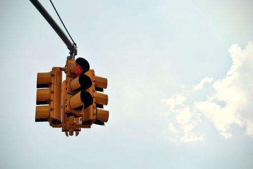 traffic light intersection
