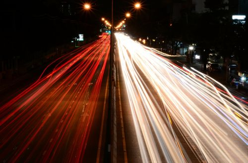 traffic lights road