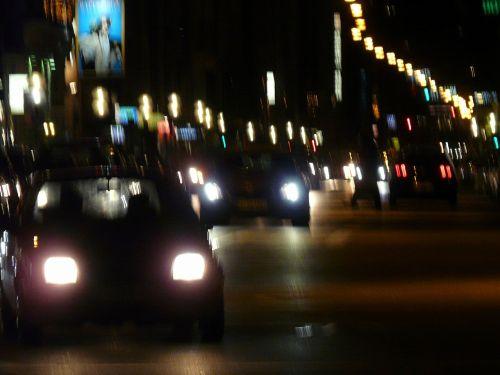 traffic movement drive