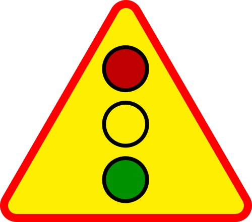 traffic signs triangle