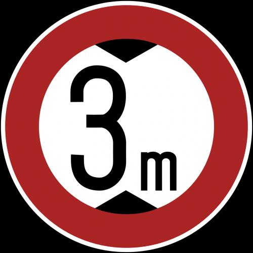 traffic ban sign