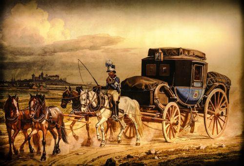 traffic travel horses