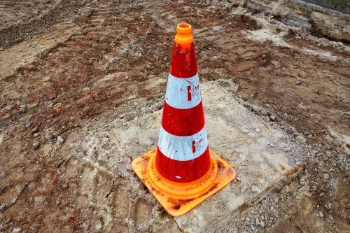 traffic cone pylon witches' hat