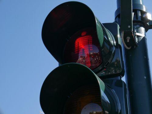 traffic light red red light