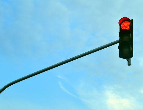 traffic light light red light