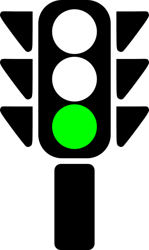 traffic light green go