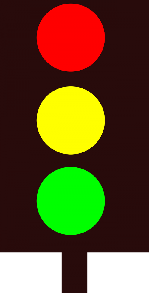 traffic lights traffic green