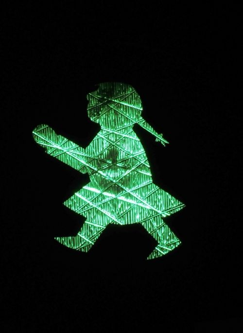 traffic lights little green man ddr