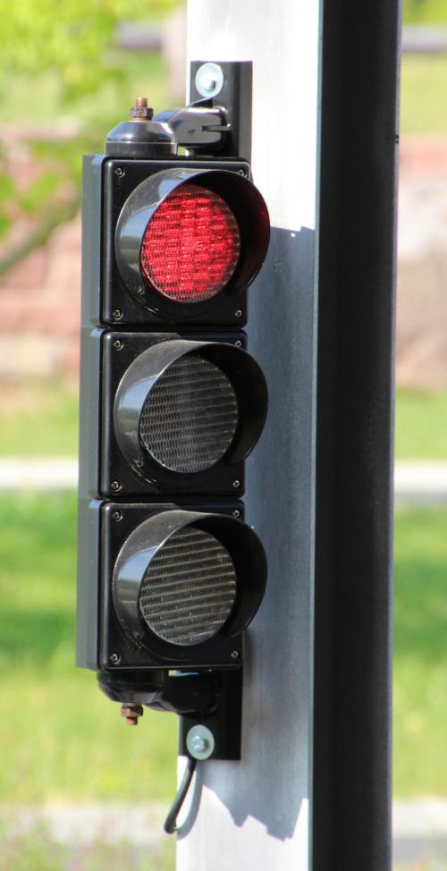 traffic lights red light signal