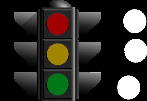 traffic lights signal traffic