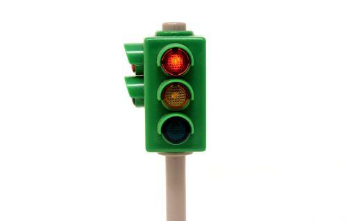 traffic lights red stand still
