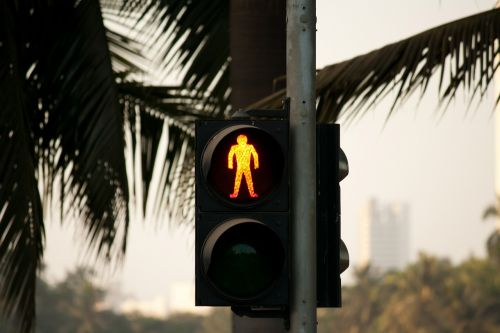 traffic lights red stop