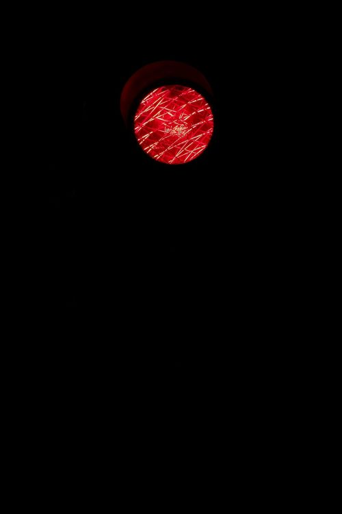 traffic lights red wait