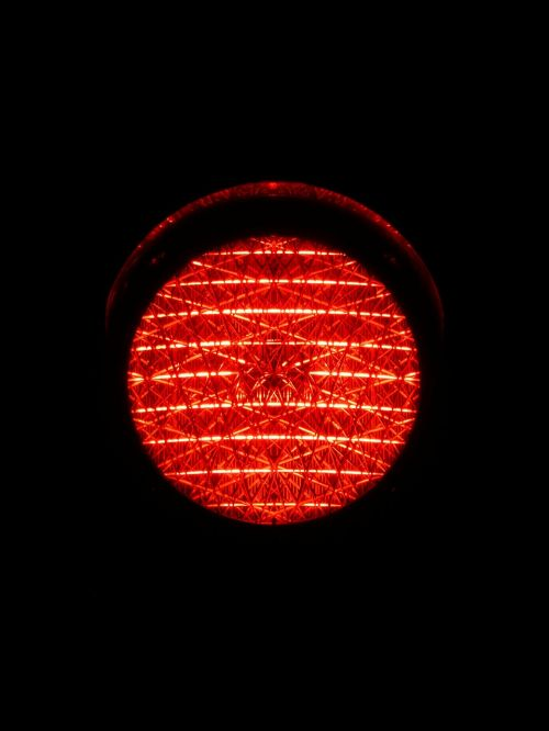 traffic lights red light red