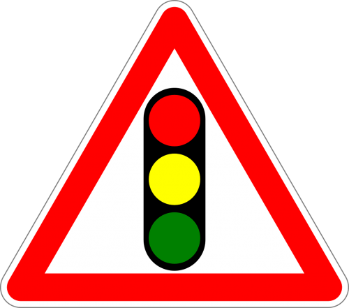 traffic sign sign traffic signals