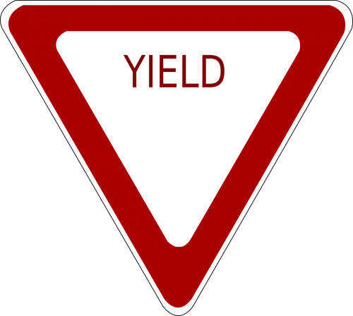 traffic sign warning traffic