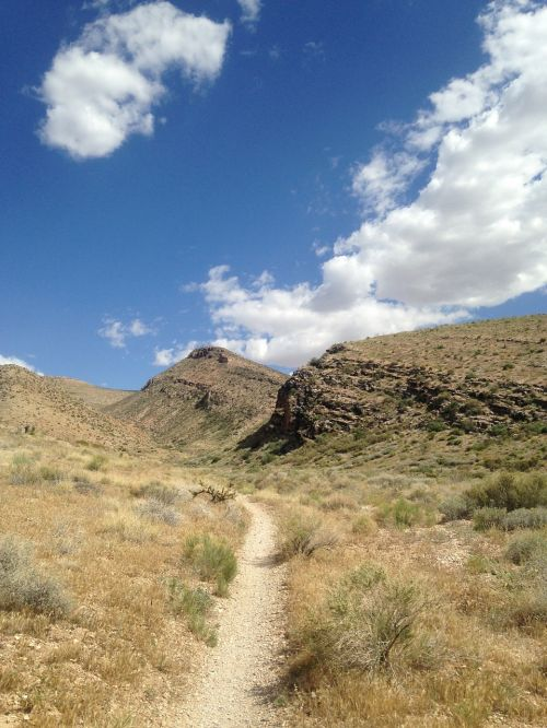 trail clouds hill