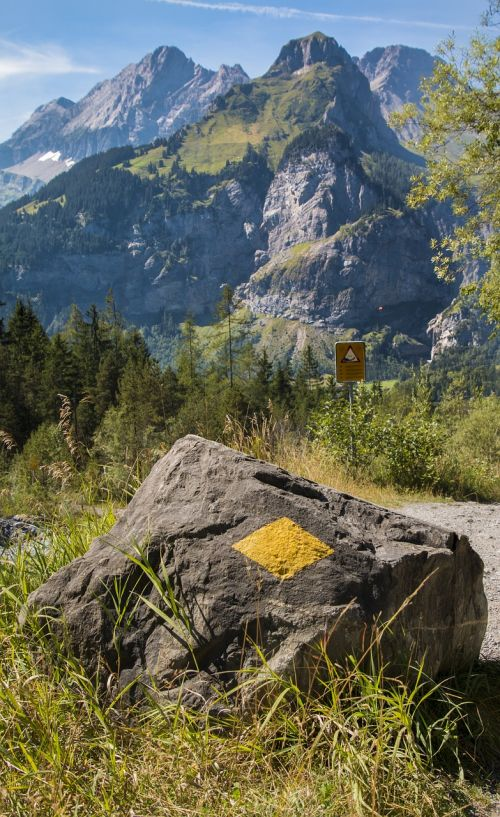 trail trail signs directory