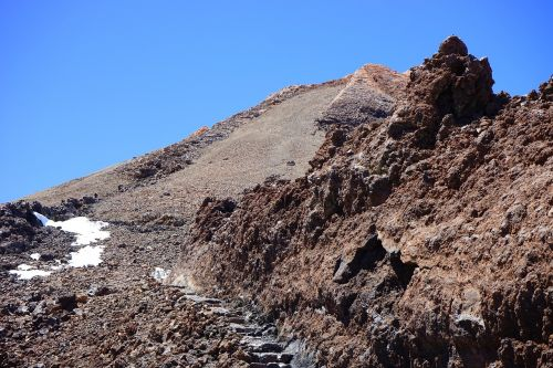 trail teide summit