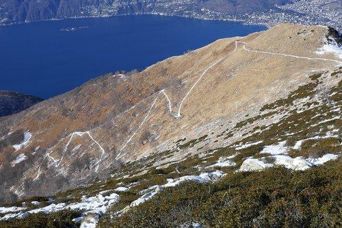 trail  track  winter