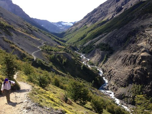 trail patagonia nature