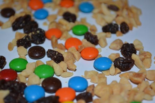 Trail Mix Snack Sweet