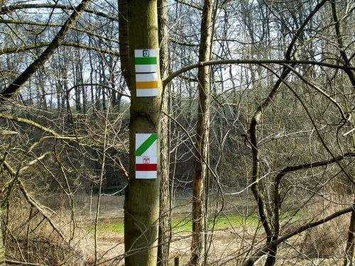 trail signs directory mark