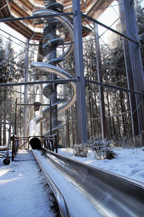 trail treetops lipno slide