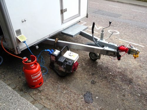 Trailer Powered By Generator