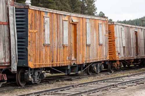 train antique cars