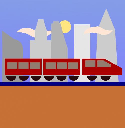 train,city,urban,travel,travel icon,landscape,cityscape