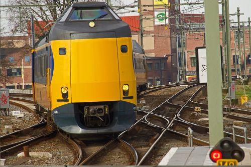 train track dutch railways