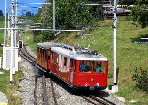 train rigi mountain