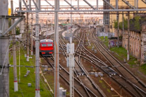 train passenger train railway