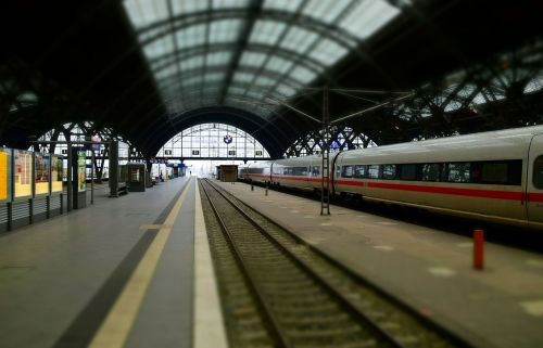 train railway station leipzig