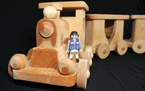 train toys wood