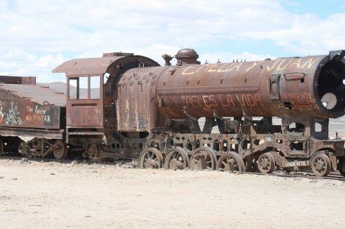 train old bolivia