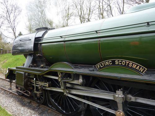 train flying scotsman steam