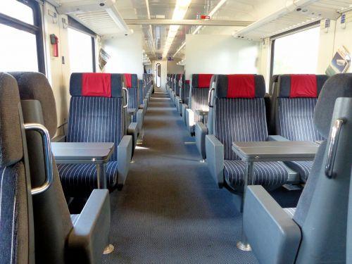 train seats compartment
