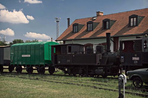 train steam locomotive railway