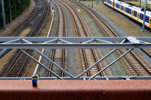 train station lego