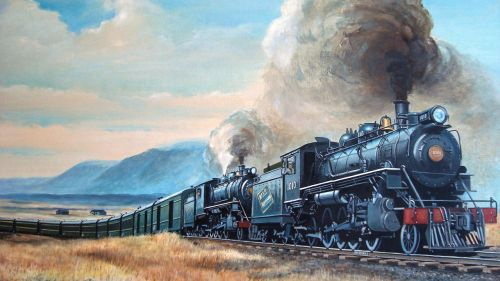 train locomotion railway