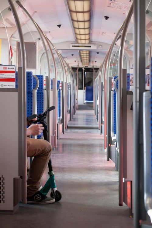 train s bahn compartment