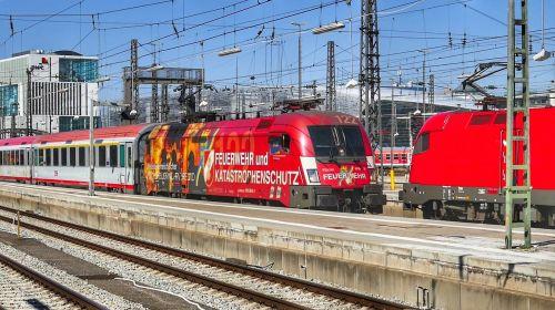 train railway transport system