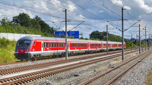 train railway railway line